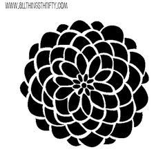 Zinnia svg #3, Download drawings