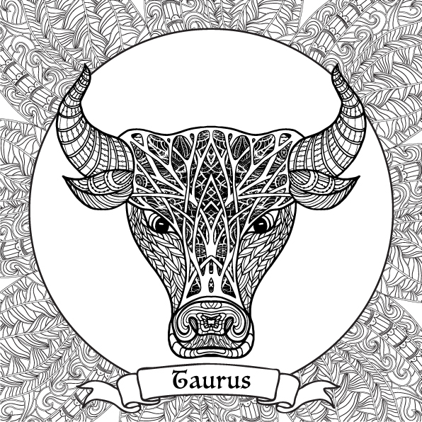 Zodiac Sign coloring #12, Download drawings