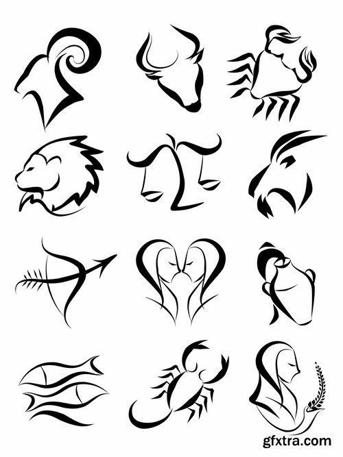 Zodiac Sign svg #2, Download drawings