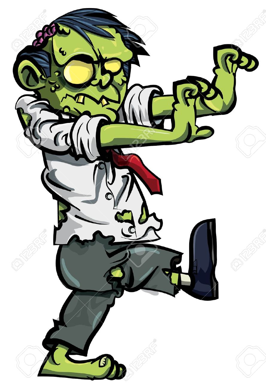 Zombie clipart #13, Download drawings