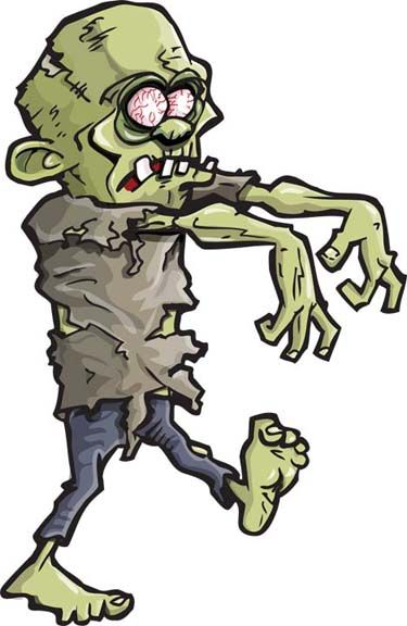 Zombie clipart #6, Download drawings