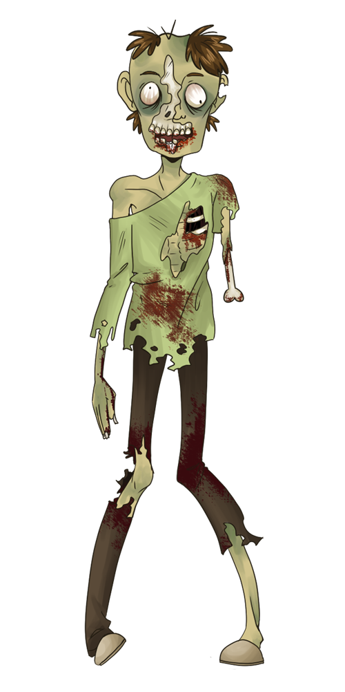 Zombie clipart #11, Download drawings