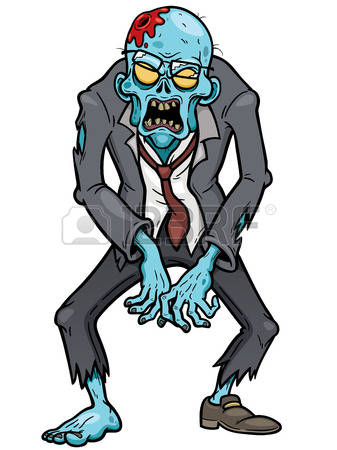 Zombie clipart #3, Download drawings