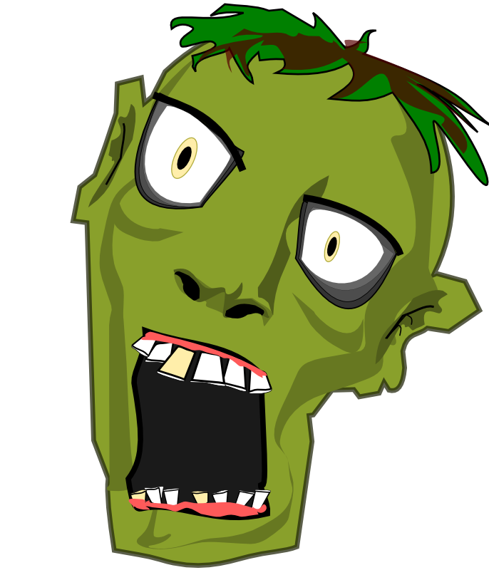 Zombie clipart #17, Download drawings