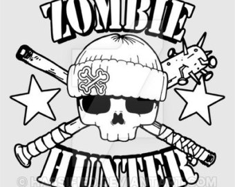 Zombie svg #8, Download drawings