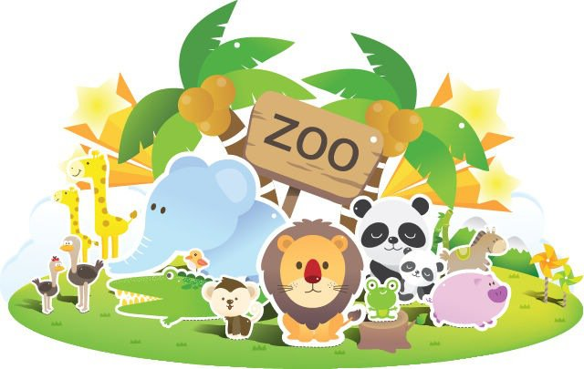 Zoo clipart #20, Download drawings