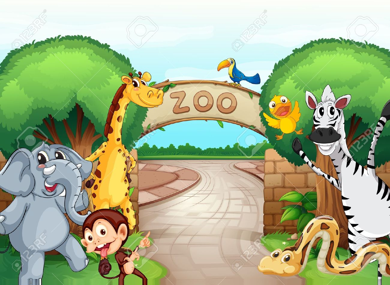 Zoo clipart #9, Download drawings