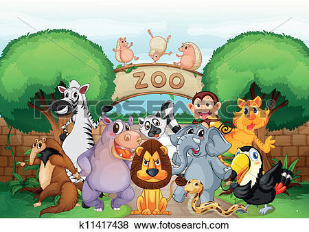 Zoo clipart #14, Download drawings