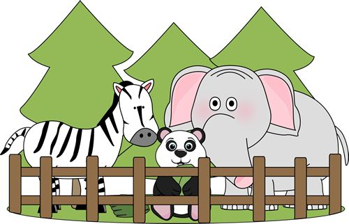Zoo clipart #2, Download drawings