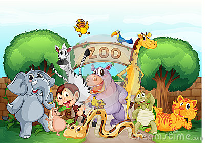 Zoo clipart #3, Download drawings