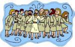 12 Apostles clipart