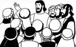 The Twelve Apostles clipart