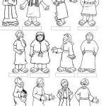 12 Apostles coloring