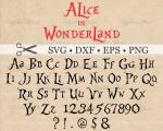 Alice (Alice In Wonderland) svg