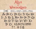 Alice (Alice In Wonderland) svg