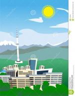 Almaty clipart