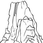 Yosemite Falls coloring