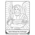 Archangel Michael! coloring