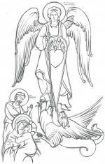 Archangel Michael! coloring