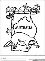 Australian coloring
