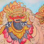 Bali coloring