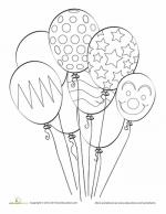 Balloon coloring