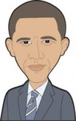 Barack Obama clipart
