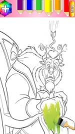 Beast Girl coloring