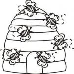 Bee Hive coloring