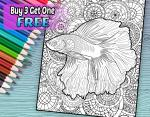 Betta coloring