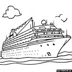 Cruise Ship coloring