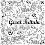 Britain coloring