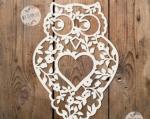 Brown Hawk Owl svg