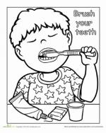 Brush coloring