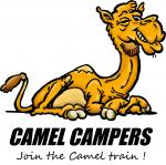 Camel Train coloring