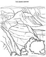 Grand Canyon coloring