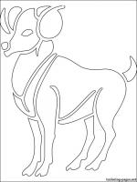 Capricorn  (Astrology) coloring