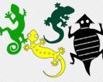 Reptile svg