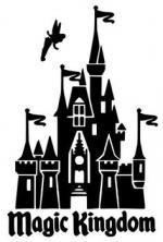 Cinderella's Castle svg