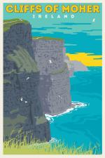 Cliffs Of Moher coloring