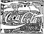 Coca Cola coloring