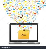Communication Folder clipart