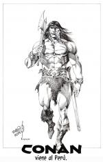Conan The Barbarian coloring