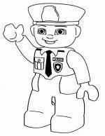 Cop coloring