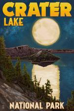 Crater Lake National Park coloring