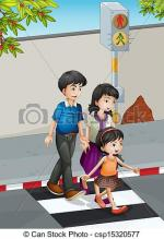 Crossing clipart
