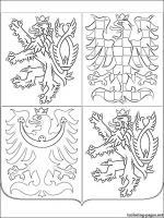 Czech Republic coloring