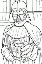 Darth Vader coloring