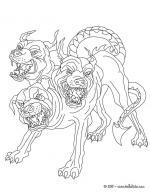 Demon coloring