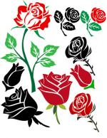 Digital Art Red clipart